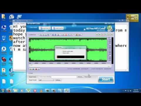 How to Cut Songs // Mp3 Editing vvith Mp3 cutter 2.1.3