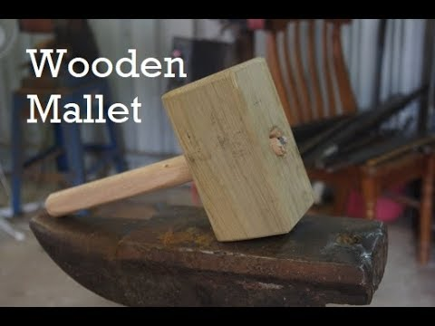 Making a Wooden Mallet for Blacksmithing