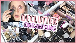 Foundation & Concealer 🔪 ORGANIZE AND DECLUTTER MY MAKEUP COLLECTION! 😏 2018