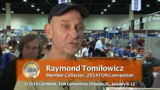 FUN Member Collector Profile: Raymond Tomilowicz. VIDEO: 2:10.