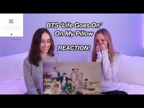 BTS (방탄소년단) 'Life Goes On' Official MV : on my pillow REACTION!