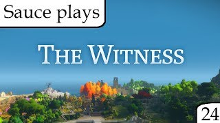 Sauce plays The Witness, Part 24 - Star at dawn [Regular game finale]