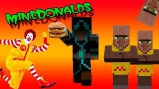 Обзор Мода Minecraft Макдональдс!!! (MineDonalds) №63
