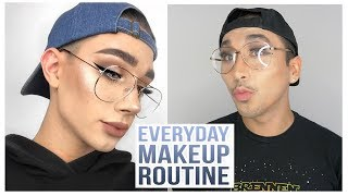 I TRIED FOLLOWING A JAMES CHARLES MAKEUP TUTORIAL... LOL