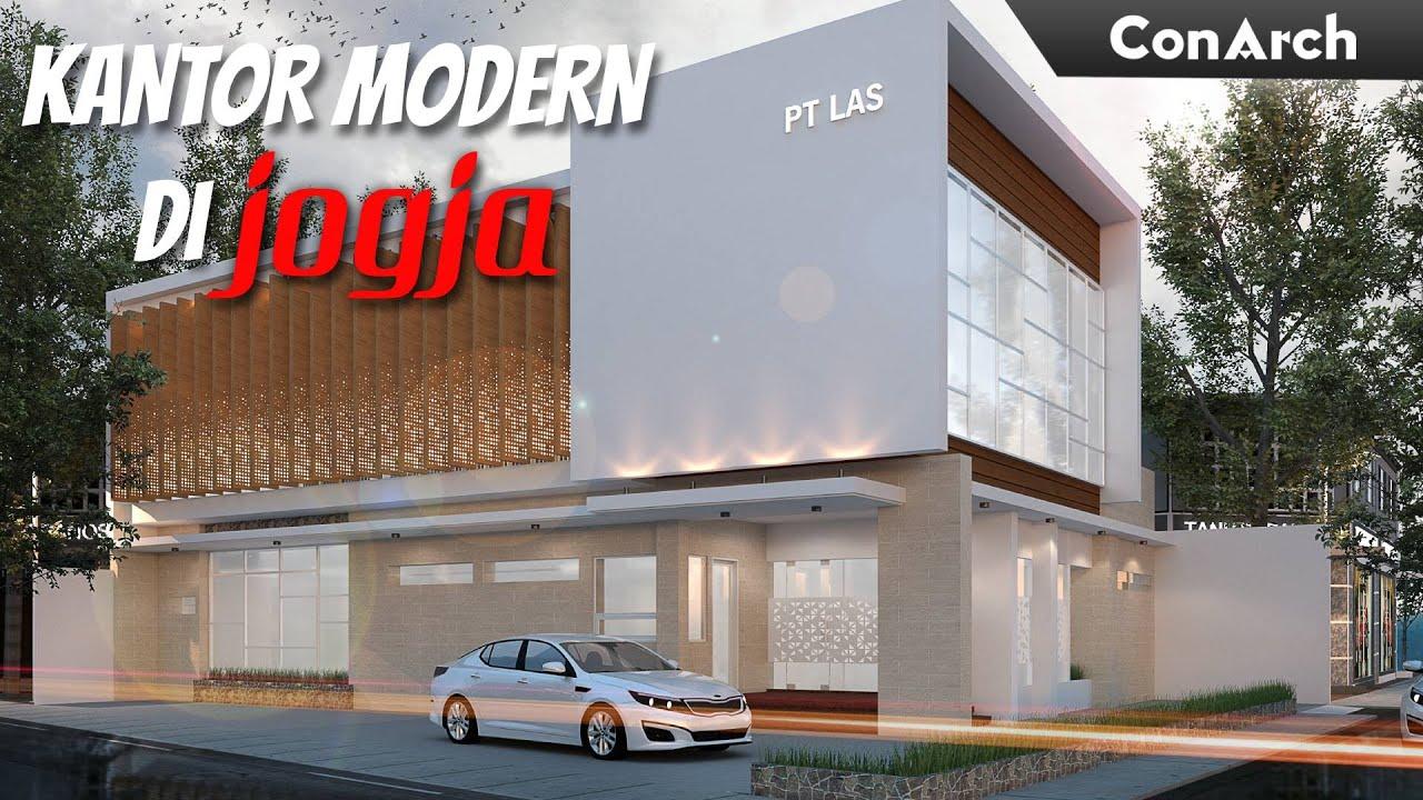 Inspirasi Arsitektur Dan Interior Bangunan Kantor Modern Youtube Bangunan kantor modern