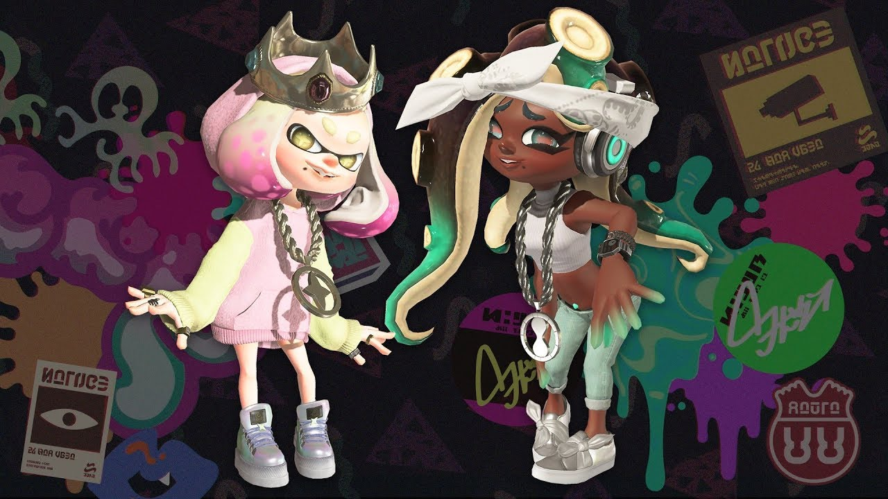 Splatoon 2 Octo Expansion Dlc Pearl Marina S Role Youtube