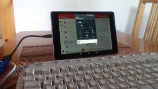 Nexus 9 printing setup