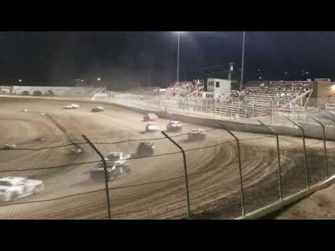 Aztec speedway stands video 7/13/19