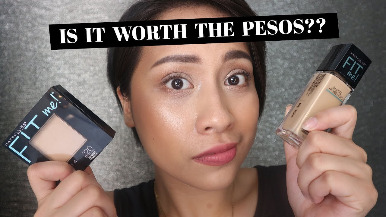 Maybelline Fit Me Matte And Poreless Review Philippines Thats So Airyrooms Foundation 30ml Nik