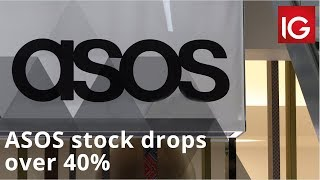 Heavy discounting sees ASOS stock drop over 40%
