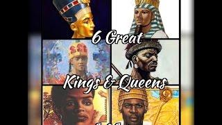 6 great kings queens of africa