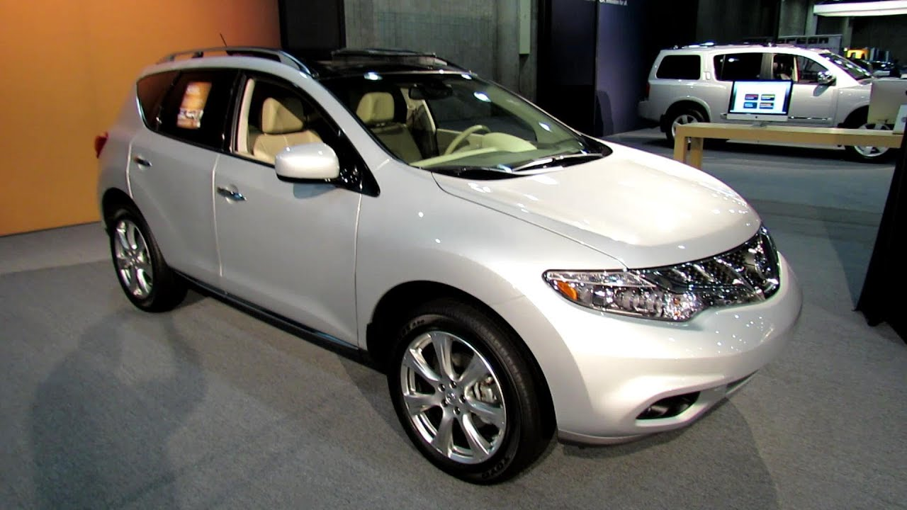 2012 Nissan Murano Platinum Awd Exterior And Interior At