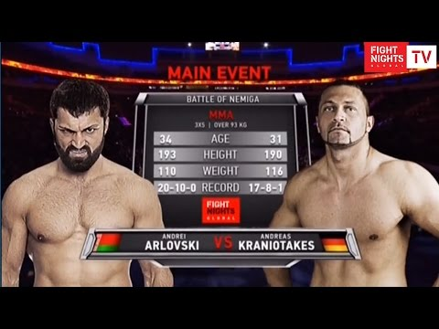 Андрей Орловский vs. Андреас Краниотакес / Andrei Arlovski vs Andreas Kraniotakes