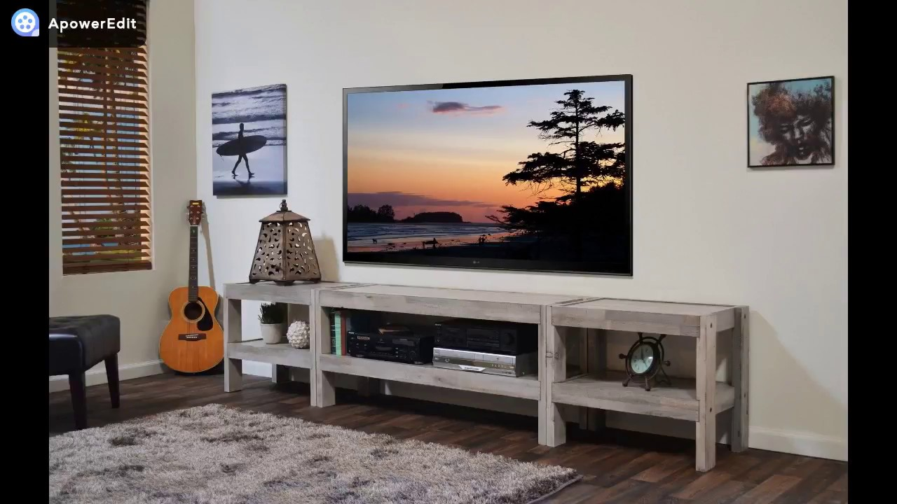 Making A Tv Stand Pallets Youtube