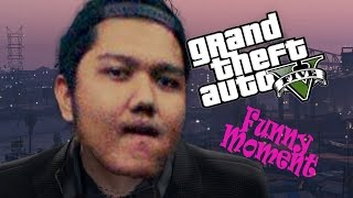 GTA 5 Gameplay ( Free Mode Funny Moment #2 )