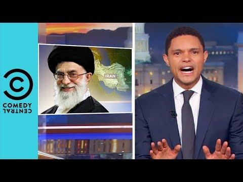 Iran's Non Threatening Threat Towards Donald Trump | The Daily Show With Trevor Noah