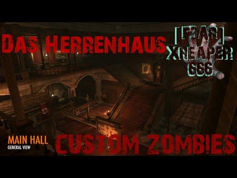 call of duty world at war custom zombies:  Das Herrenhaus