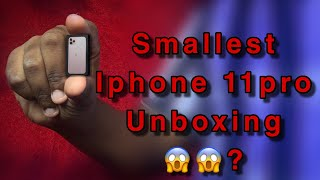 WOW! World Smallest Iphone 11pro unboxing😱 all variants | IPHONE11PRO | Editing photo khan | Like |
