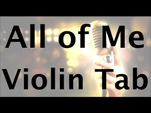 Learn All of Me on Violin - How to Play Tutorial **New Version Available!