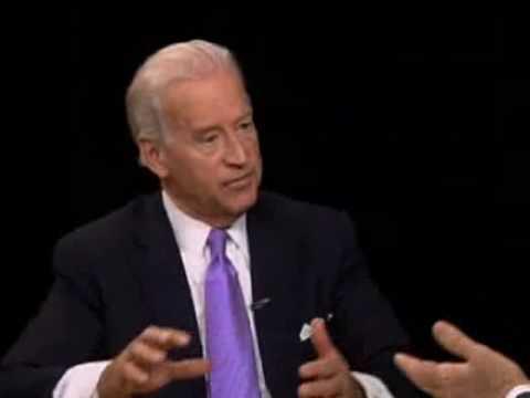 VP Joe Biden On Flotilla Incident (Charlie Rose, PBS)