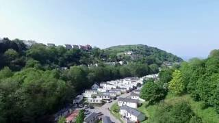 Hele Valley Holiday Park - Drone footage