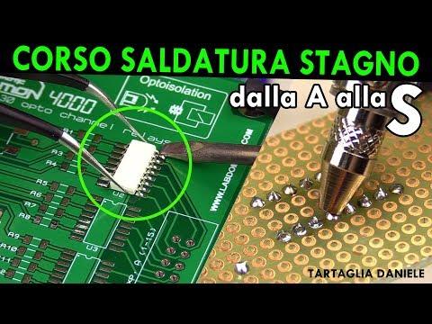 Credi di saper saldare a stagno?? CORSO Saldatura e dissaldatura - in Italiano Tartaglia Daniele from YouTube · Duration:  24 minutes