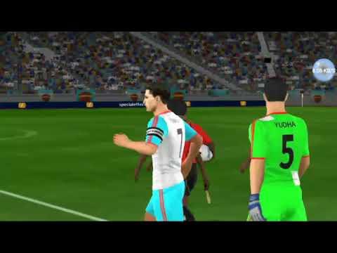 Dream League Soccer 18 - Tottenham H vs Indonesia - #2