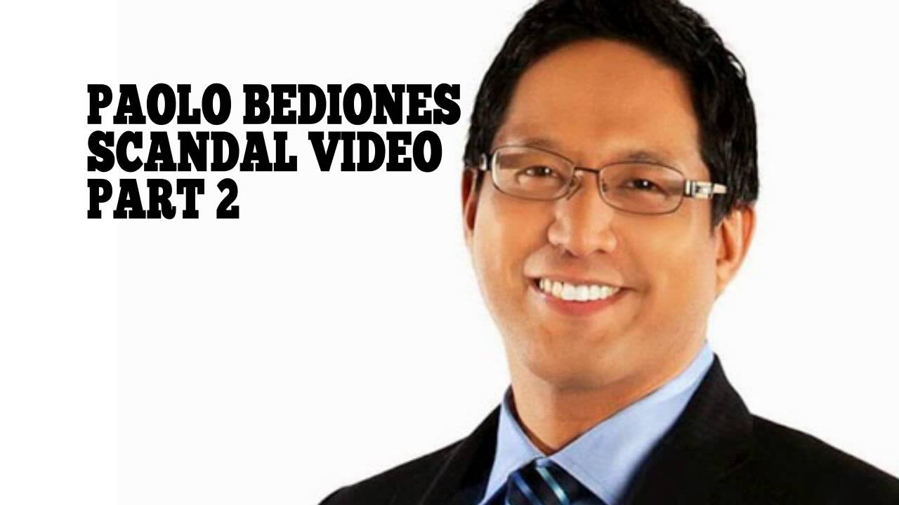 Paolo bediones scandal