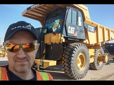 Heavy Haul TV: Episode #451 -- Decatur, IL -- CAT 775 Mine Truck