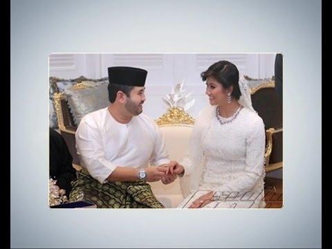 Foto sekitar majlis pernikahan Tunku Mahkota Johor