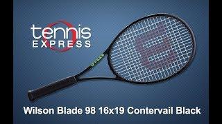 Wilson Blade 98 16x19 CV Black Tennis Racquet Review | Tennis Express