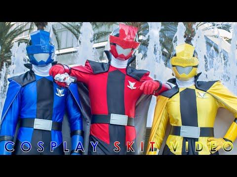 Lupinrangers Steals Power Morphicon 2018 Sentai Power Rangers Film Youtube
