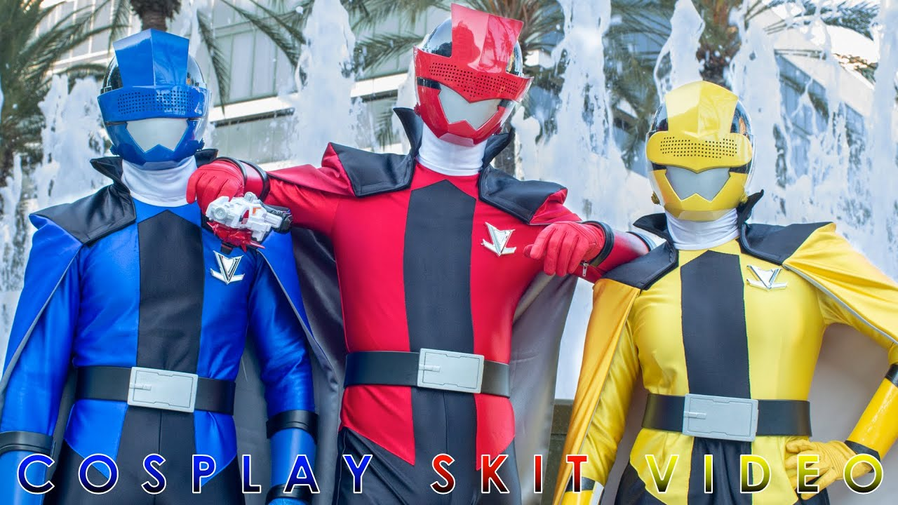 LUPINRANGERS STEALS POWER MORPHICON 2018 SENTAI POWER RANGERS FILM