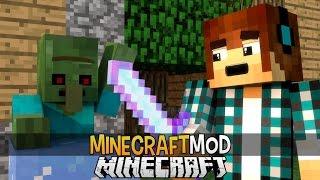 Minecraft Mod: Espadas com Poderes INCRIVEL !! (Fogo,Gelo,Ar,Terra) - Elemental Swords Mod thumbnail