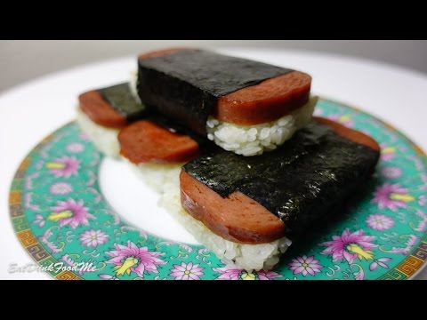 Easy Spam Musubi (rice mold and spam tin methods). Easy Recipes Episode #3