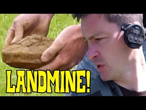 WW2 Land Mine Found Metal Detecting
