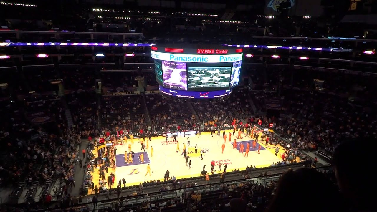 Quot I Love L A Quot Los Angeles Lakers Staples Center Youtube