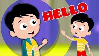 привет песня | Дошкольные песни | Детские рифмы | Nursery Rhymes | Poem For Kids | Hello Song