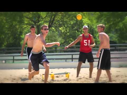 Video: Jeu de Spikeball