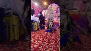 Maha Kali jhanki by gourav & group at matarani jagran org. By yuva mandali ganesh utsav kameti