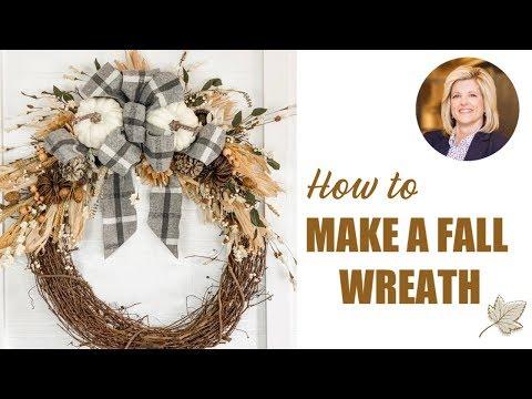 DIY Fall Wreath Fall Decor 2019