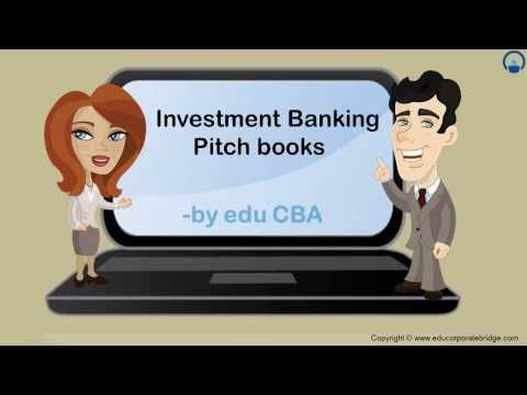Investment Banking Pitch Book - Investment Banking by edu CBA