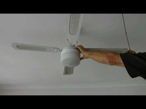 How to fix a noisy ceiling fan youtube how to fix a noisy ceiling fan aloadofball Images