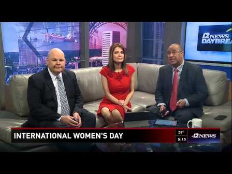 International Women's Day on KBMT (Beaumont, TX)