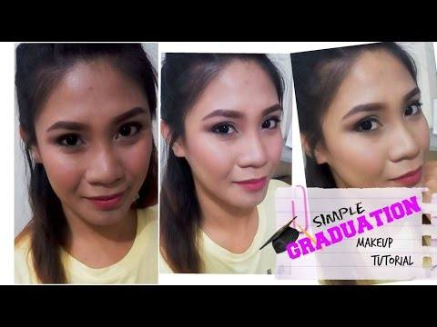 simple graduation makeup tutorial filipina/tagalog march