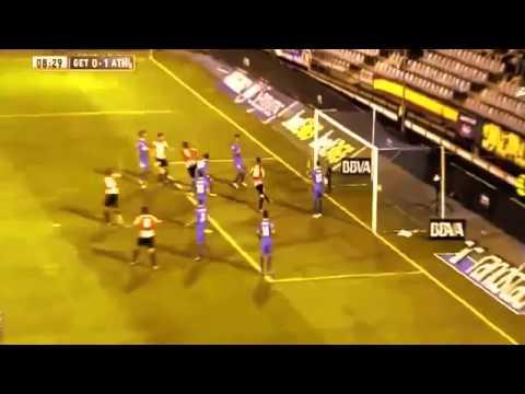 Getafe Athletic Bilbao Aymeric Laporte's goal