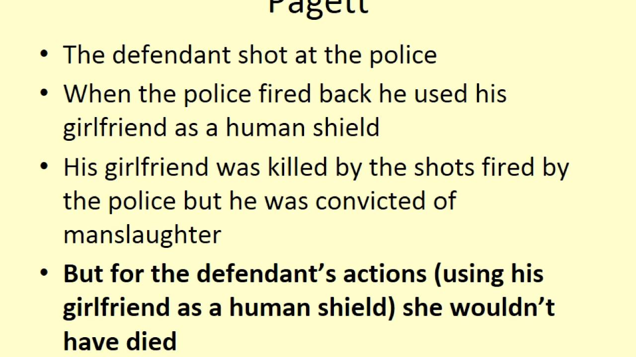 causation and intervening acts in criminal The hergott law difference free case evaluation we offer a free initial consultation.
