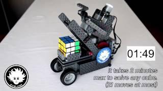 RUBIX - VEX IQ Rubik's Cube Solver