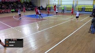 Беларусь vs. Швейцария (товарищеский матч)