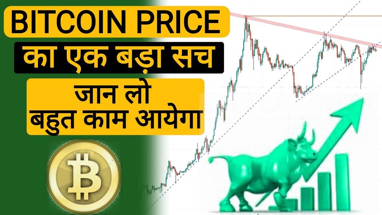 BITCOIN PRICE का एक सच || जान लो बहुत काम आयेगा || Bitcoin in Hindi/हिन्दी